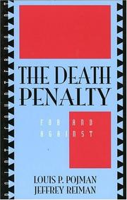 Cover of: The death penalty: for and against