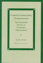 Cover of: Constitutionalizing globalization