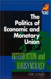 Cover of: The Politics of Economic and Monetary Union