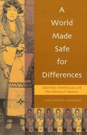 Cover of: A World Made Safe for Differences
