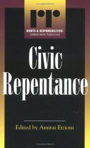 Cover of: Civic repentance