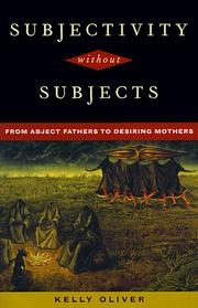 Cover of: Subjectivity Without Subjects