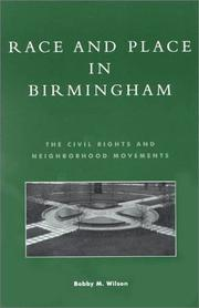 Cover of: Race and place in Birmingham
