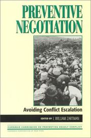 Cover of: Preventive Negotiation
