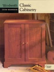 Cover of: Classic cabinetry |