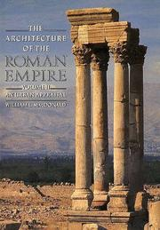 Cover of: The Architecture of the Roman Empire