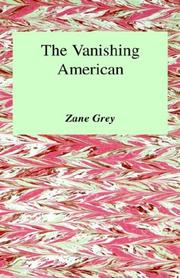 Cover of: The Vanishing American