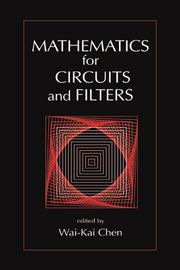 Cover of: Mathematics for Circuits and Filters