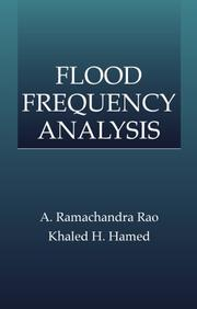 Cover of: Flood Frequency Analysis (New Directions in Civil Engineering) |