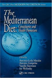 Cover of: The Mediterranean Diet |