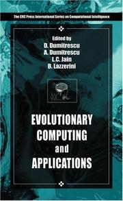 Cover of: Evolutionary Computation (International Series on Applied Computer Intelligence) | D. Dumitrescu