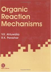Organic reaction mechanisms by V. K. Ahluwalia