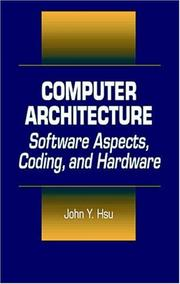 Cover of: Computer architecture