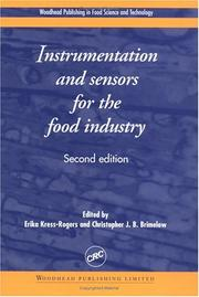 Cover of: Instrumentation and Sensors for the Food Industry, Second Edition |