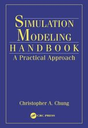 Cover of: Simulation Modeling Handbook | Christopher A. Chung