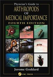 Cover of: Physician's Guide to Arthropods of Medical Importance, Fourth Edition (Physician's Guide to Arthropods of Medical Importance)
