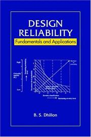 Cover of: Design Reliability | B.S. Dhillon