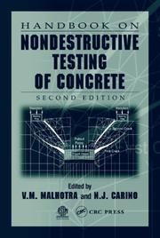 Cover of: Handbook on nondestructive testing of concrete