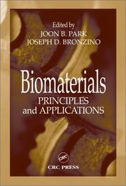 Cover of: Biomaterials |