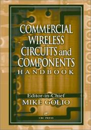 Cover of: Commercial Wireless Circuits and Components Handbook | Mike Golio