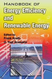 Cover of: Handbook of Energy Efficiency and Renewable Energy (Mechanical Engineering) |