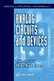 Cover of: Analog Circuits and Devices (Principles and Applications in Engineering, 6)