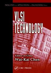 Cover of: VLSI Technology (Principles and Applications in Engineering, 8)