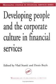 Cover of: Developing People and the Corporate Culture in Financial Services |