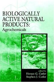 Cover of: Biologically active natural products |