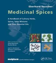 Cover of: Medicinal Spices | Eberhard Teuscher
