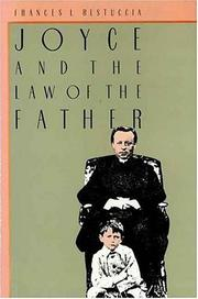 Cover of: Joyce and the law of the father