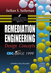 Cover of: Remediation Engineering Design Concepts on CD-ROM