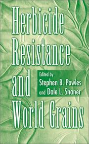 Cover of: Herbicide resistance and world grains |