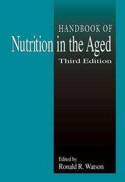 Cover of: Handbook of Nutrition in the Aged, Third Edition (Modern Nutrition)