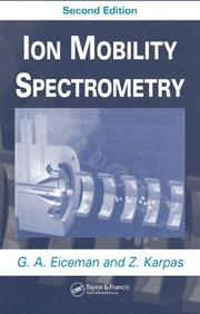 Cover of: Ion mobility spectrometry |