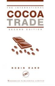 Cover of: The International Cocoa Trade