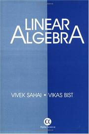 Cover of: Linear Algebra | Vivek Sahai