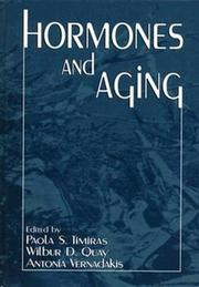 Cover of: Hormones and aging |