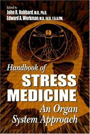 Cover of: Handbook of stress medicine