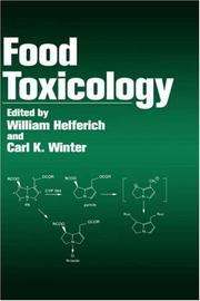 Cover of: Food toxicology |