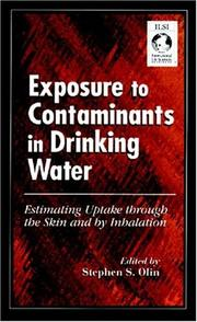 Cover of: Exposure to contaminants in drinking water |