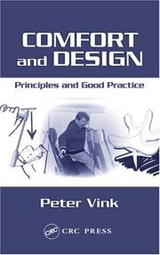 Cover of: Comfort and Design
