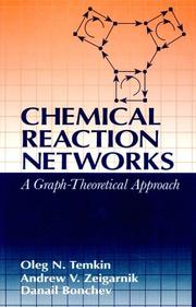 Cover of: Chemical reaction networks