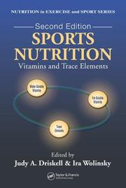Cover of: Sports nutrition by