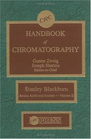 Cover of: CRC Handbook of Chromatography