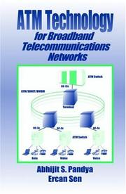 Cover of: ATM technology for broadband telecommunications networks