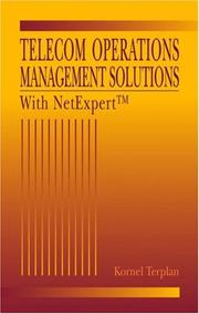 Cover of: Telecom operations management solutions with NetExpert | Kornel Terplan