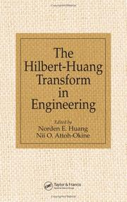 Cover of: The Hilbert-Huang Transform in Engineering |