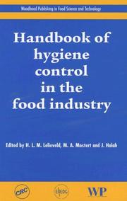 Cover of: Handbook of Hygiene Control in the Food Industry (Woodhead Publishing in Food Science and Technology) |