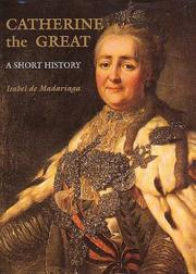 Cover of: Catherine the Great